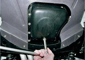 Замена масла в двигателе ВАЗ 2107